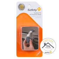 Safety 1st Custom Fit All Purpose Strap (2pk), Grey