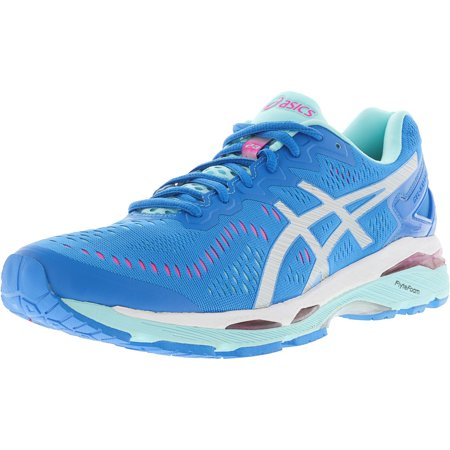 e93e1aaba5 Asics - Asics Women s Gel-Kayano 23 Diva Blue   Silver Aqua Splash  Ankle-High Running Shoe - 5.5M - Walmart.com