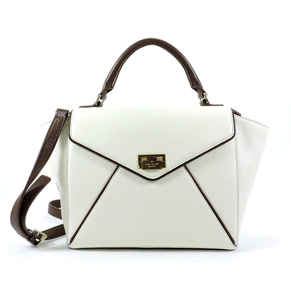 kate spade new york wesley place leather laurel satchel bag