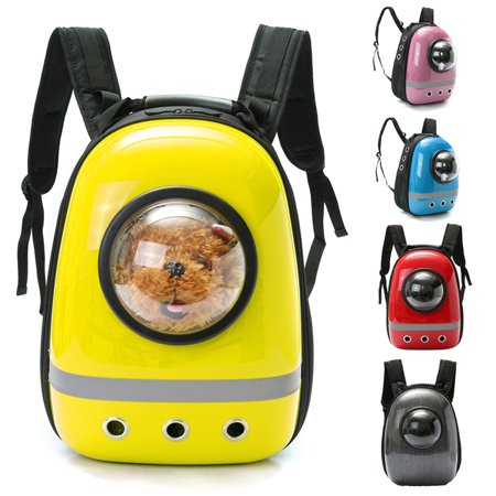 31fe98cf64 Grtsunsea Space Astronaut Capsule Pet Dog Carrier Backpack Breathable  Shoulder Bag Winter Mobile Bed for Small Dog Puppy Cat Rabbit - Walmart.com