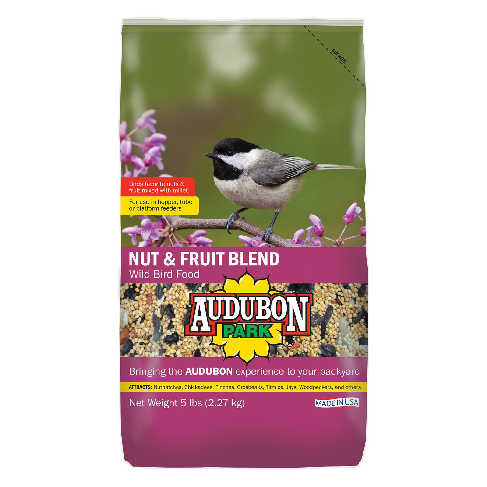 Audubon Park Fruit and Nut Wild Bird Food by Overstock