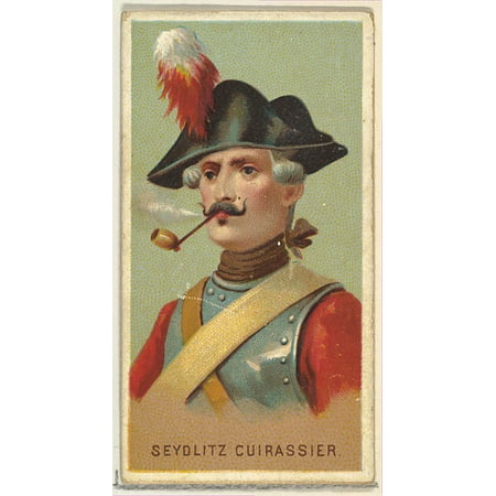 Seydlitz Cuirassier from Worlds Smokers series (N33) for Allen & Ginter Cigarettes Poster Print (18 x