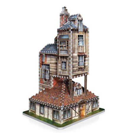 Wrebbit 3D Harry Potter Burrow - Weasley Family Home Jigsaw Puzzle 415 Piece - image 1 of 4