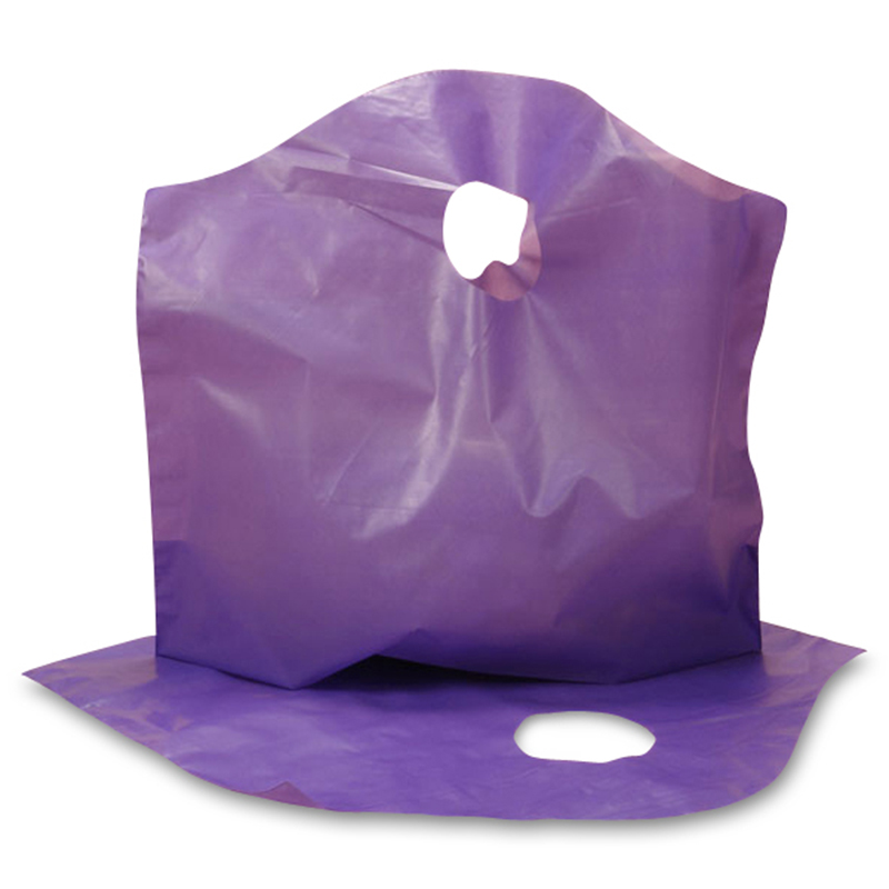 "Purple Food Bags 12"" X 11"" X 4""  