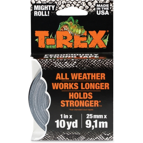 "T-Rex Tape Mighty Roll, 1"" x 10 yds, Gunmetal Gray"