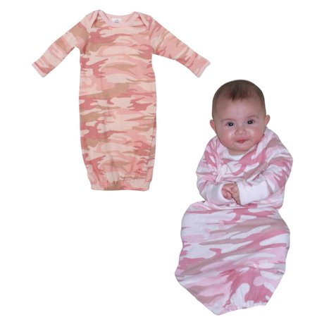 2cc22a0a2 Rothco - Infant Baby Pink Camo Long Sleeve One-Piece Sleeper ...
