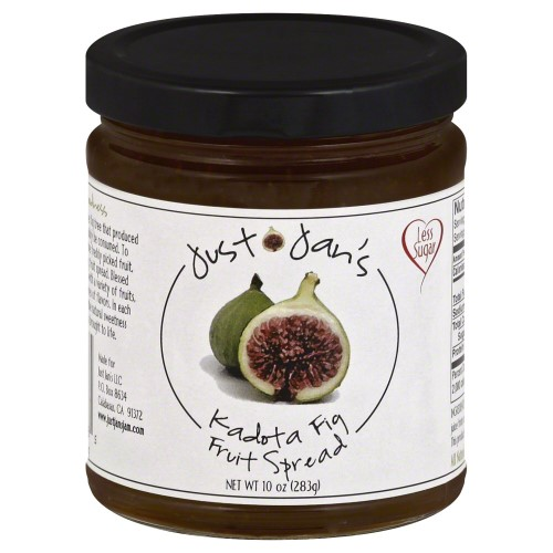 Just Jan's Fruit Spread, Kadota Fig, 10 Oz by Just Jan's