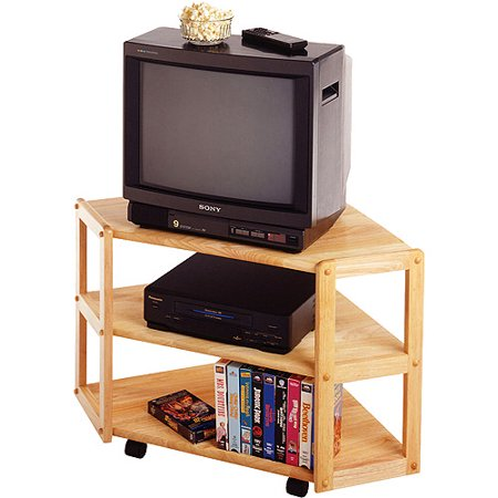 Derby Beech Corner TV Stand, for TVs up to 27″