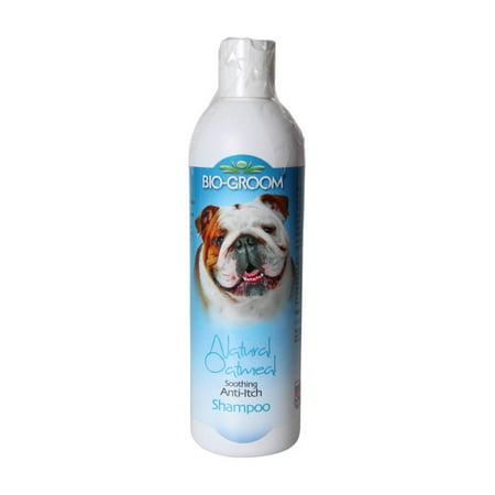 Biogroom Oatmeal Shampoo - Bio-groom natural oatmeal anti-itch shampoo, 12-oz bottle