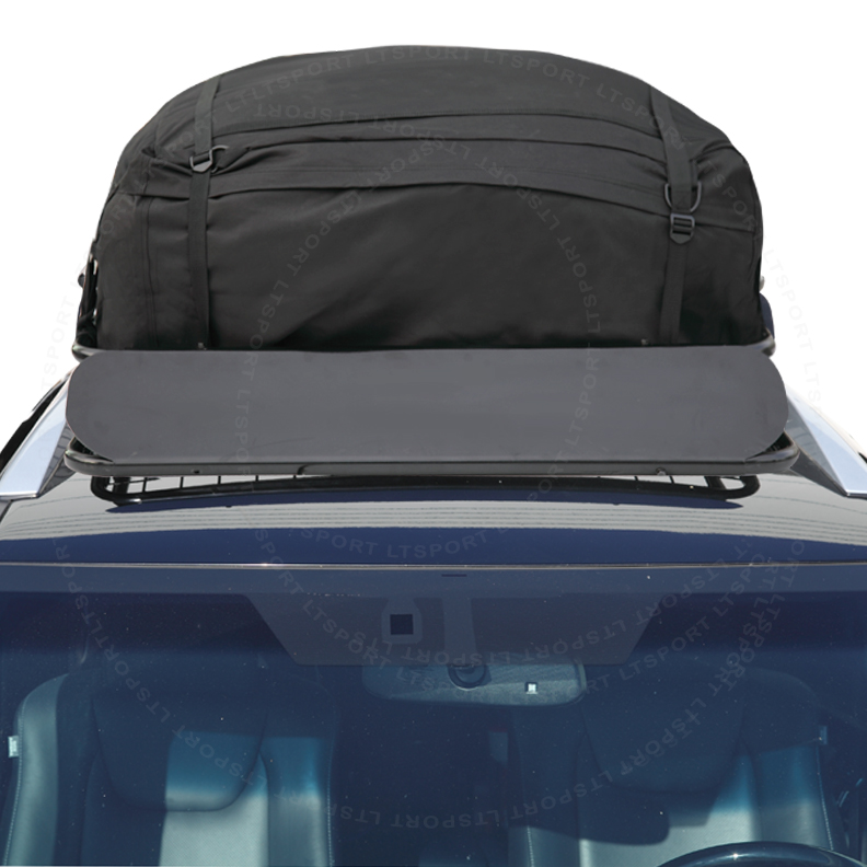 Fit Lincoln Car Roof Top Basket Travel Luggage Carrier Ca...
