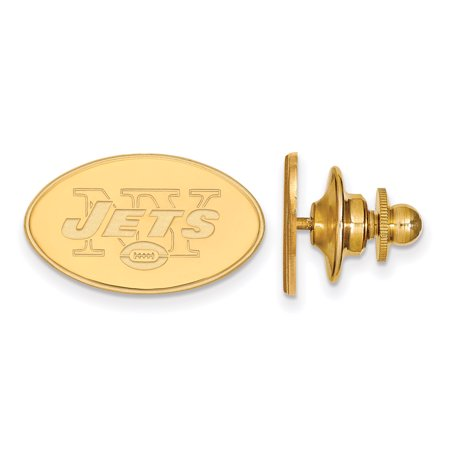 New York Jets Gold-Plated Logo Lapel Pin - No Size