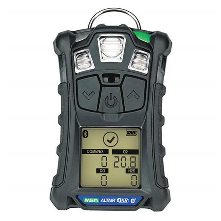 MSA 10178557 ALTAIR 4XR Multigas Detector (LEL, O2, CO2, H2S) with Bluetooth ()
