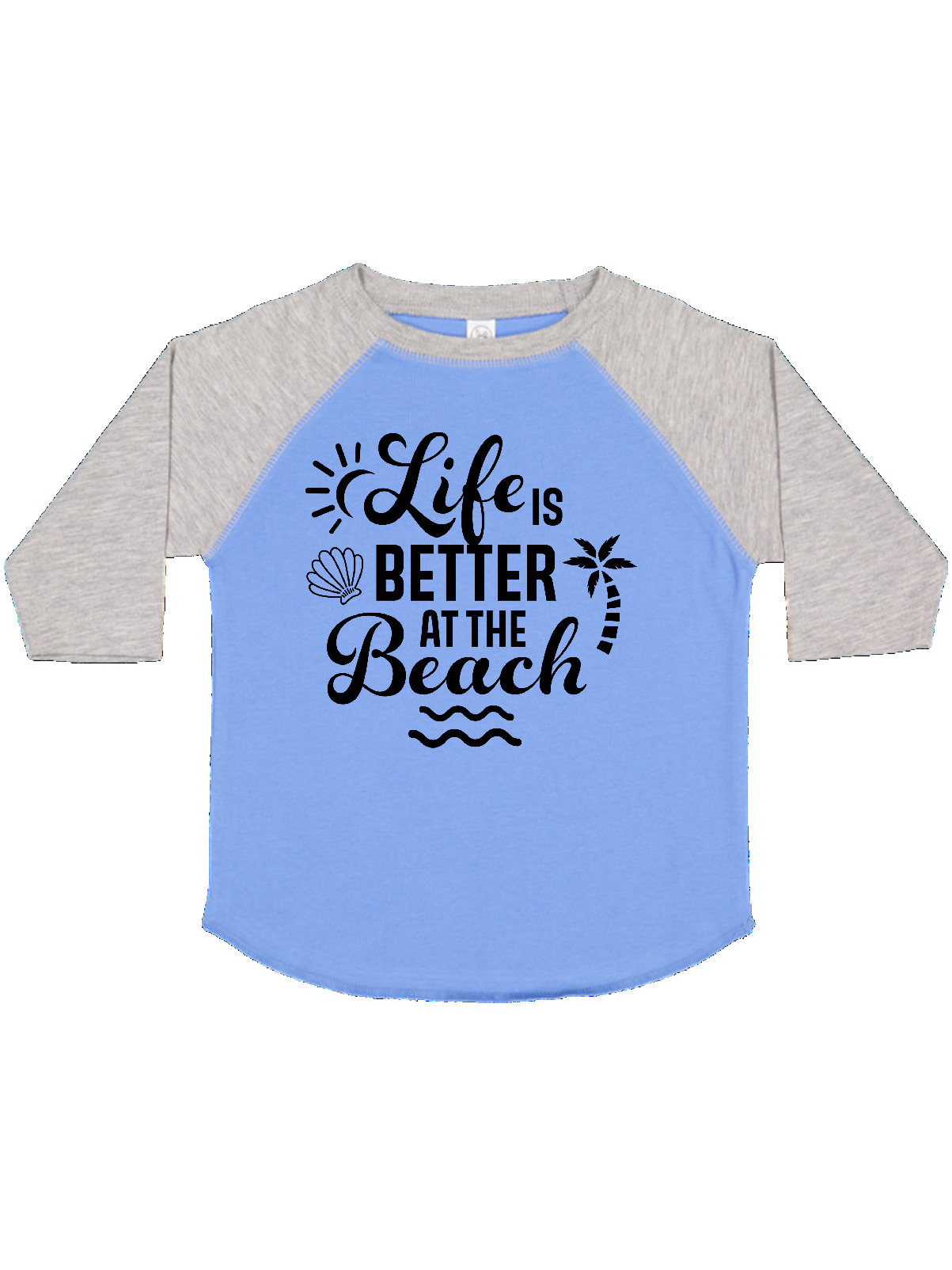 inktastic Lifes Better at The Beach Toddler T-Shirt