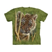 Cotton Baby Tiger Awesome Animal Youth T-Shirt (Small)