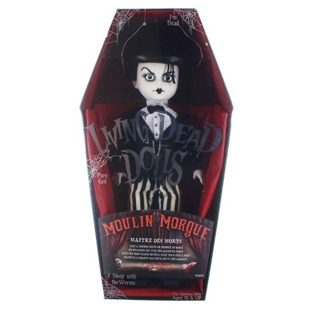 Mezco Toyz Living Dead Dolls Moulin Morgue Maitre Des Morts Series 33 - Dead Doll