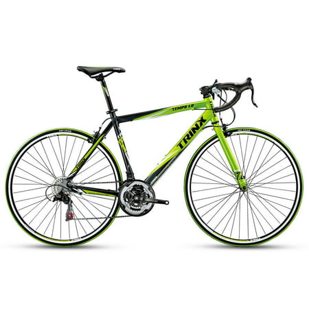 Trinx TEMPO1.0 700C Road Bike 21 Speed Racing Bicycle Black Green