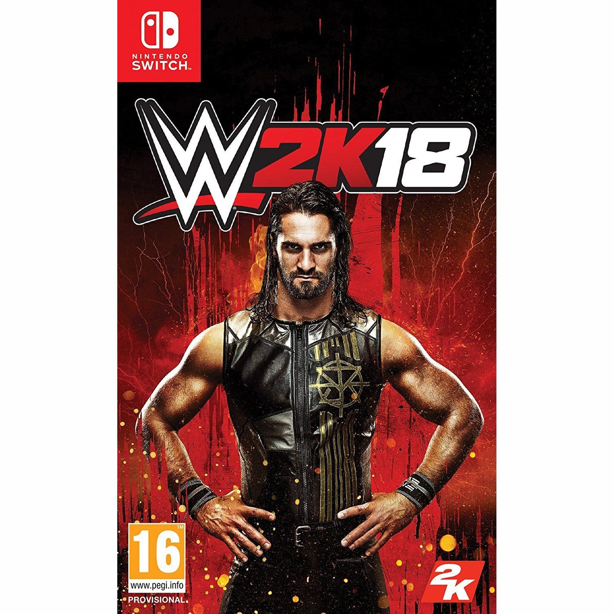 WWE 2K18, 2K, Nintendo Switch, 710425459535