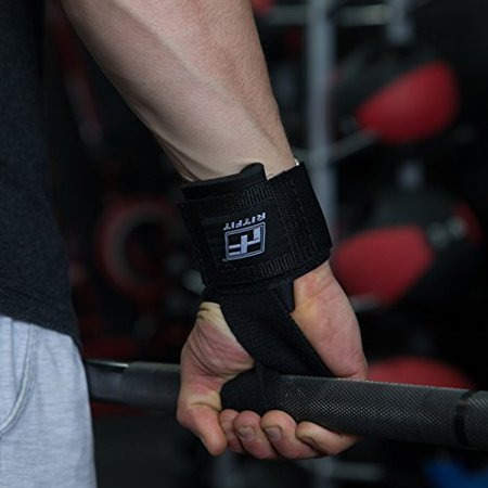 RitFit Lifting Straps + Wrist Protector For Weightlifting, Bodybuilding, MMA, Powerlifting, Strength Training ~ Men & Women - image 1 de 4