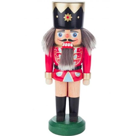 Alexander Taron 020-007-1 Dregeno Nutcracker - Red Soldier with Two Tone Hair