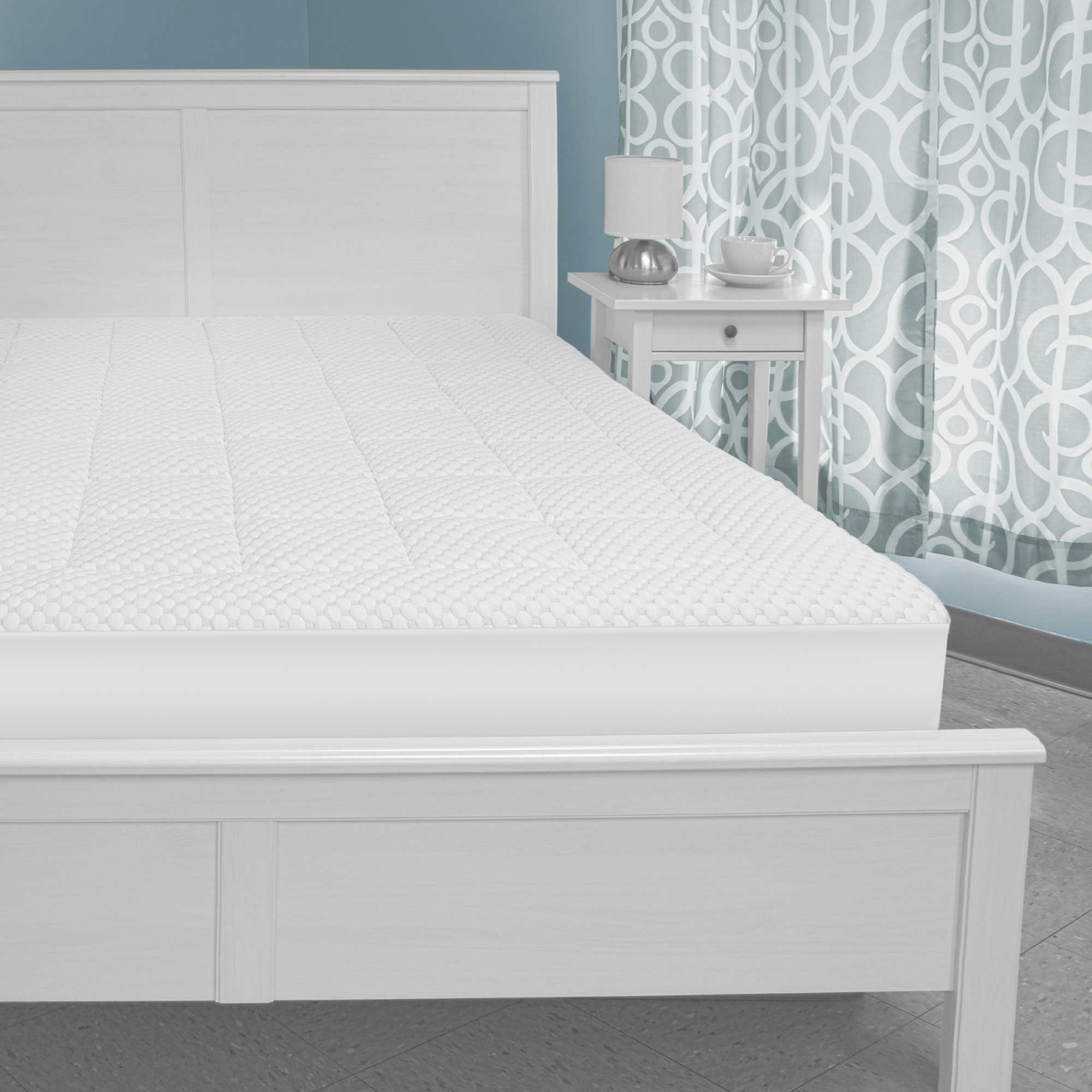 Sensorpedic Memory Foam And Fiber Washable Mattress Pad