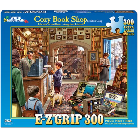 Jigsaw Puzzle  300 Pieces  24   X 30    Cozy Book Shop