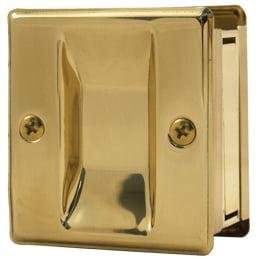 Stone Harbor Hardware, Square Pocket Door Lock, HL82001