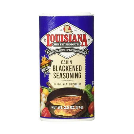 Louisiana Cajun Blackened Seasoning (2.5 oz Shakers) 2
