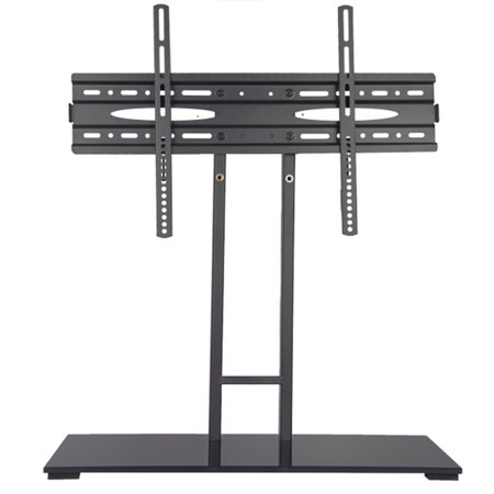 universal tv stand pedestal base wall mount for 32 65 flat screen tvs. Black Bedroom Furniture Sets. Home Design Ideas