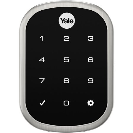 Yale Residential Real Living Key Free Assure Touchscreen Stand Alone Deadbolt