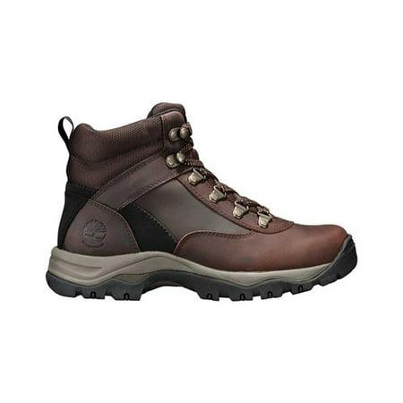 Timberland Women's Keele Ridge Mid Waterproof Hiking Boots (Dark Brown Oiled, 7)