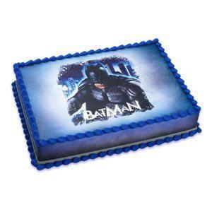 Batman The Dark Knight Rises Edible Cake Topper / 1 Image - Batman Cake Topper