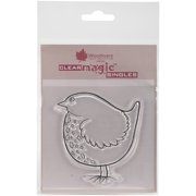 """Woodware Clear Stamps 3.5""""X3.5""""-Big Bird"""