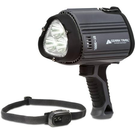 Buy Ozark Trail 20L Mini Headlamp & 500L Spotlight Combo Pack