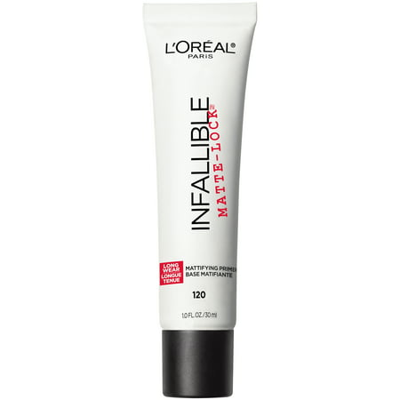 L'Oreal Paris Infallible Matte-Lock Mattifying Primer 120 Clear 1 fl. oz.