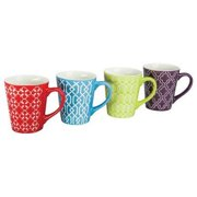 BIA Cordon Bleu Mug Assorted Colors - 13 oz, Set of 4