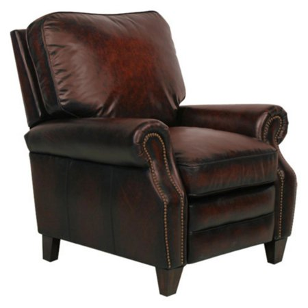 Barcalounger Briarwood II Leather Recliner with Nailheads ()