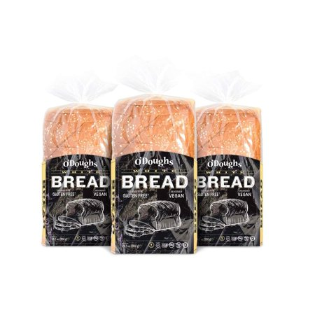 Gluten Free White Bread - O'Dough Gluten Free White Bread Loaf, 24.7 Ounce [3 Packs]