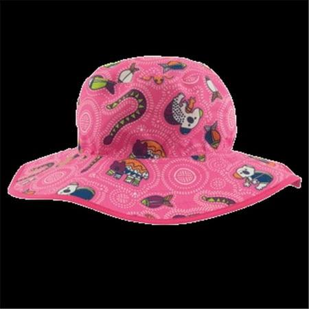 Banz BHRCGP 2015 Baby Reversible Hat, Coolgardie Pink