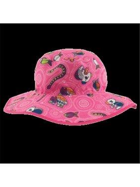 BHRCGP 2015 Baby Reversible Hat, Coolgardie Pink
