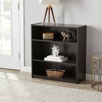 Deals on Mainstays 31-inch 3-Shelf Standard Bookcase