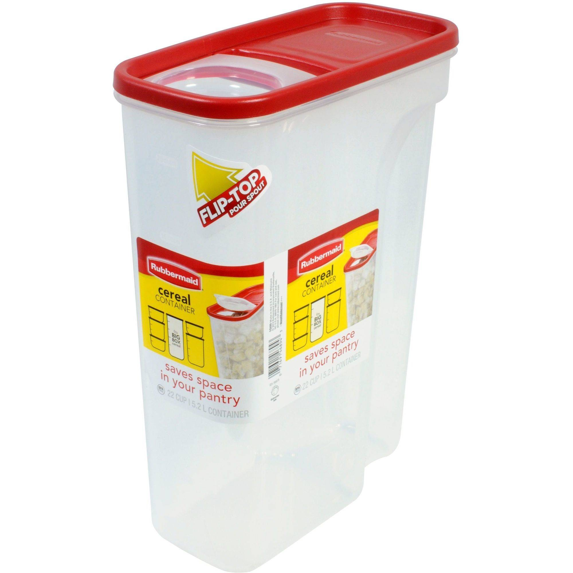 Rubbermaid 22-Cup Dry Food Cereal Keeper