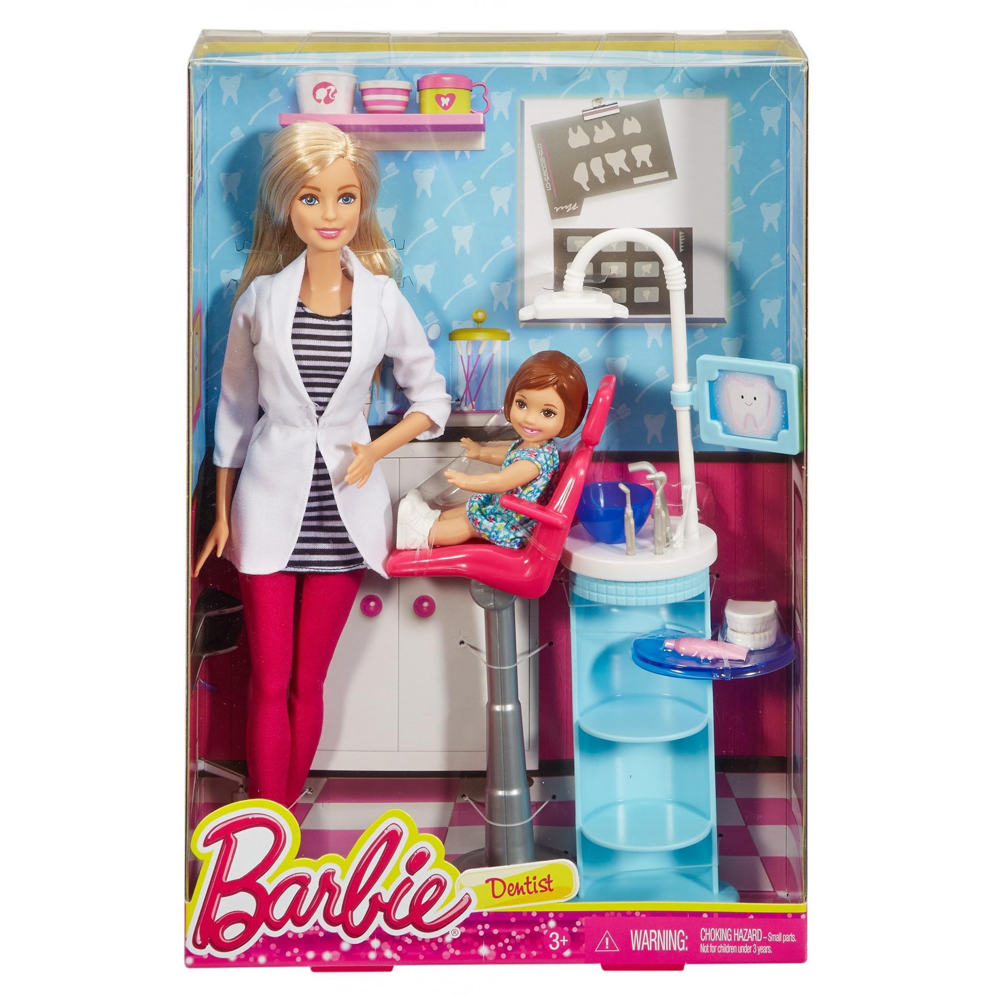 Barbie Careers Dentist Playset - Walmart.com - Walmart.com