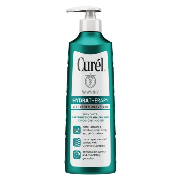 Curel Hydra Therapy Wet Skin Moisturizer, 12 fl oz