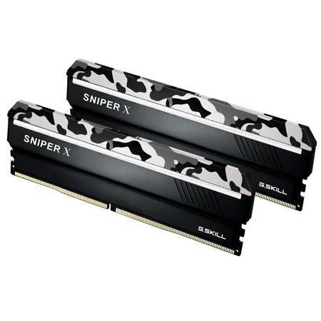 16GB G.Skill DDR4 3200MHz Sniper X PC4-25600 CL16 Dual Channel Kit (2x 8GB) Urban Camo