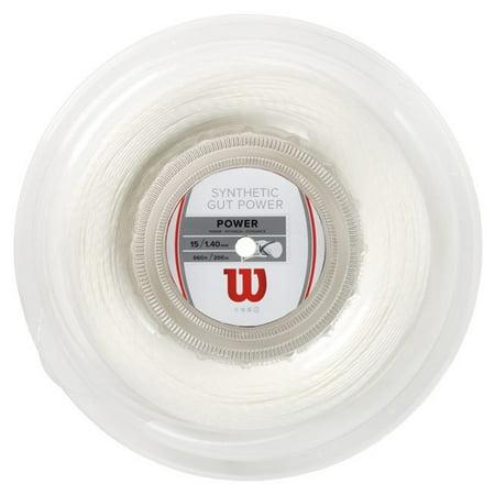 Wilson Synthetic Gut Power 15 Tennis String - 17g Wilson Strings
