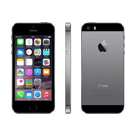 iPhone 5s 16GB Space Gray (Unlocked) Refurbished Grade B (Refurbished Pda Cell Phones)