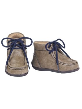 Double Barrel 4412702-07 Smith Toddler Casual Shoes, Brown - Size 7