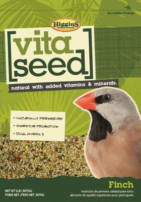Higgins Vita Seed Finch Bird Food, 2 Lb by Higgins Pet Food