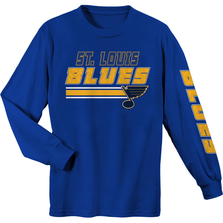 Youth Blue St. Louis Blues Long Sleeve T-Shirt