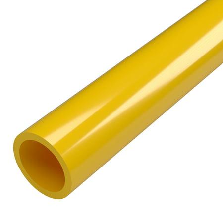 - FORMUFIT P001FGP-YE-5 Schedule 40 PVC Pipe, Furniture Grade, 5-Feet, 1